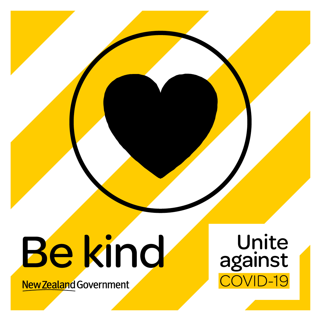 COVID19 icon facebook be kind